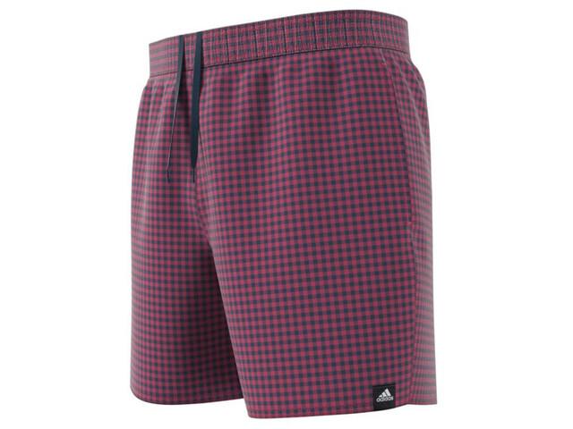 adidas Check CLX Short Length Shorts Men, rosa/azul